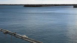 The port of Fukushima Daiichi