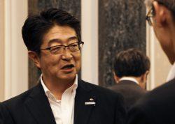 Newly elected Senior Managing Director Uetake