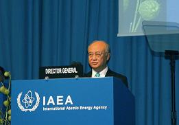 昨年9月のIAEA総会で天野事務局長は原子力は長期的にはエネルギーミックスにおいて重要な役割を果たすとの認識を示し、着実に利用拡大が見込まれるとした。