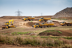 EDFエナジー社が主導するヒンクリー・ポイントC原子力発電所建設プロジェクトのサイト ©EDF Energy