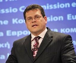 シェフチョビチ委員はエネルギー同盟担当の副委員長として同プロジェクトを指揮する