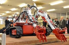 早大のロボットの写真