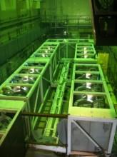 福島第一原子力発電所内の同社セシウム除去システム