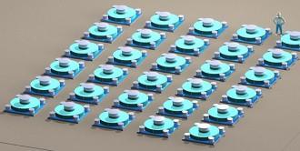 ハイ・ストームUマックスを高密度化した「ハイ・ストーム集中中間貯蔵地下施設」©ホルテック・インターナショナル社