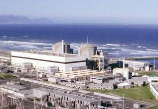 南アで唯一稼働するクバーグ原子力発電所の2基