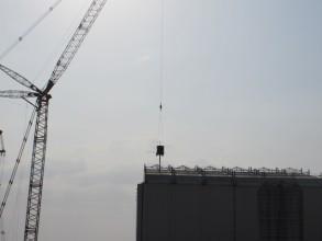 福島第一1号機建屋外観©東京電力