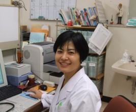 相馬中央病院内科診療科長 越智 小枝 氏