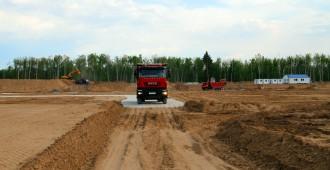 準備作業が進むMBIR建設サイト©RIAR