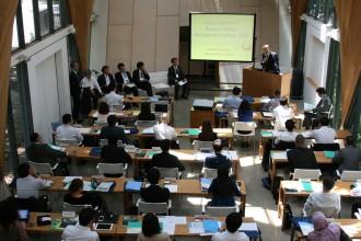 真:IAEAマネジメント開講式IMG_5538