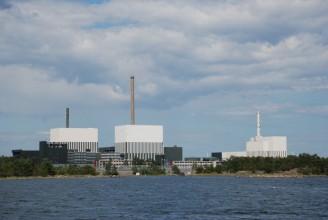 オスカーシャム発電所(=左から1、2、3号機)©OKG社