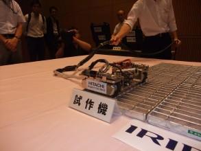 1号機格納容器内部調査に用いられた形状変化型ロボット
