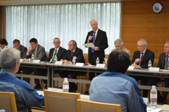 OSARTのクロージング会合©東京電力
