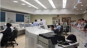 初併入達成時の福清2号機の中央制御室©CNNC