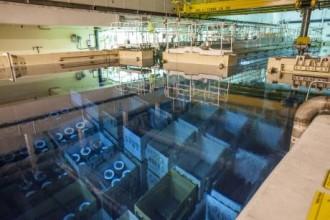 オールドベリー原子力発電所内使用済み燃料プールⓒNDA