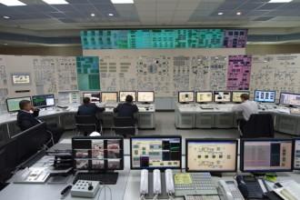 ロストフ3号機の中央制御室©ロスアトム社