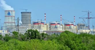 1、2号機がそれぞれ2001年と2010年から稼働中のロストフ発電所©エネルゴアトム社