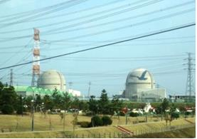 新古里原子力発電所風景