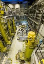 PFR原子炉ホールでの廃止措置作業©DSRL