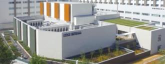 重粒子線治療施設i-ROCK外観ⓒ神奈川県立がんセンター