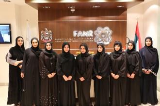 9名の新卒エンジニアは全員、才色兼備の女性達©FANR