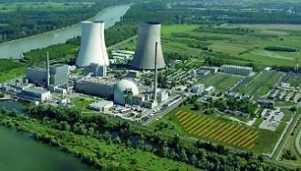 PWRとBWRが1基ずつ設置されたフィリップスブルク原子力発電所©EnBW社