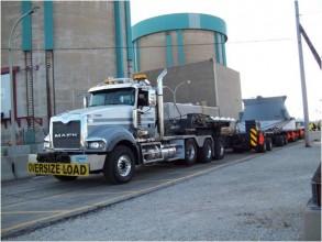 2014年にザイオン発電所から撤去された原子炉容器上蓋©ザイオンソリューションズ社