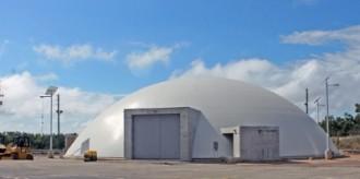 同じ州内にあるボーグル発電所のFLEXドーム©サザン社