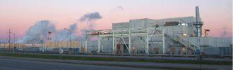 パデューカにあるDUF6転換工場©DOE