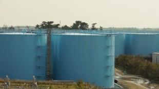 tanks at Fukushima Daiichi