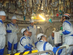 JAIF arranged the site tour of Fukushima Daini NPPs for South Korean delegations in September 2014.