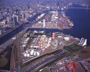 TEPCO's oil-fired power plants in Tokyo