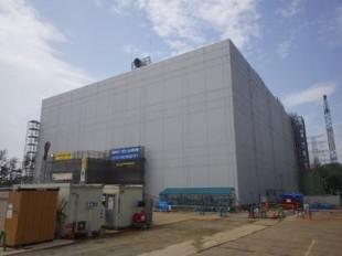 The incineration facility for miscellaneous solid material wastes at Fukushima Daiichi