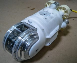 The submersible robot