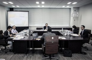 NEA DG Magwood (seen from behind) at the Japan Atomic Energy Commission (JAEC)
