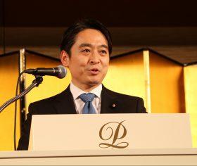METI Parliamentary Secretary Daisaku Hiraki