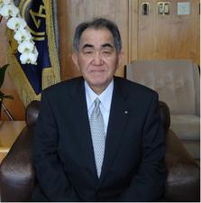Genkai Mayor Hideo Kishimoto (c) Genkai Town