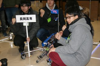 "The first-prize winner, ""Can D I"" from NNCT, was equipped with a radiation-resistant hydraulic drive unit made by the team."