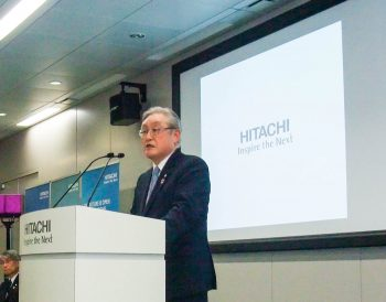 Toshiaki Higashihara, Representative Executive Officer, President, CEO & Director,Hitachi, Ltd.