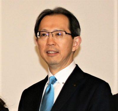 Governor Masao Uchibori of Fukushima Prefecture