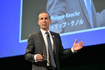 Orano CEO Philippe Knoche