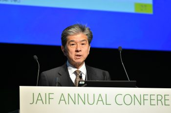 Managing Executive Officer Akira Ono of Tokyo Electric Power Co., and president of the Fukushima Daiichi Decontamination and Decommissioning Engineering Company (FDEC)