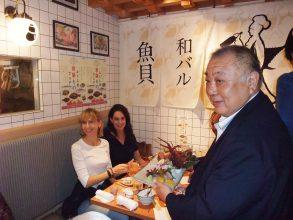 "Proud of Fukushima-produced seafood, Chairman Tetsu Nozaki of the Fukushima Federation of Fishery Cooperatives joked, ""These are too good to share!"""