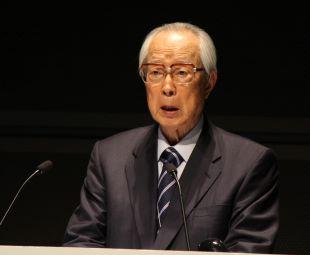 Chairman Takashi Imai of the Japan Atomic Industrial Forum (JAIF)