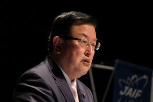 Yasumasa Nagasaka of the Ministry of Economy, Trade and Industry (METI)
