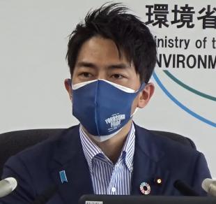 Environment Minister Koizumi